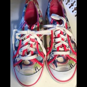 Coach Barrett sneakers, sz 8, Q676